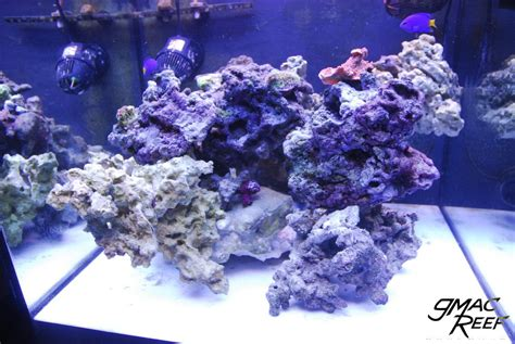 live rock aquascaping ideas reef tank rockscape how to drill and cement your live