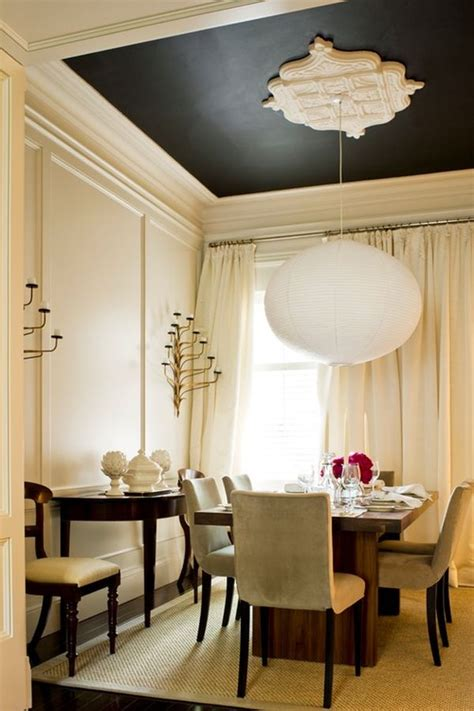 Dining Room Ceiling Paint Ideas by 20 Architectural Details Of A Stand Out Ceiling