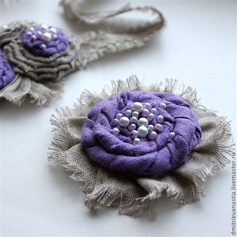 721 best handmade fabric paper and ribbon flowers images