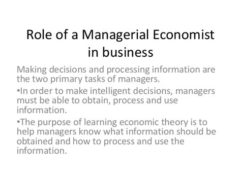 the economics of managerial decisions what s new in economics books of a managerial economist in business