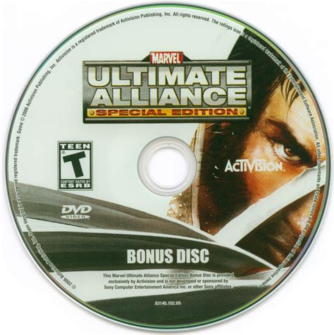 Bd Ps3 Kaset Marvel Ultimate Alliance marvel ultimate alliance special edition 2007 playstation 2 box cover mobygames