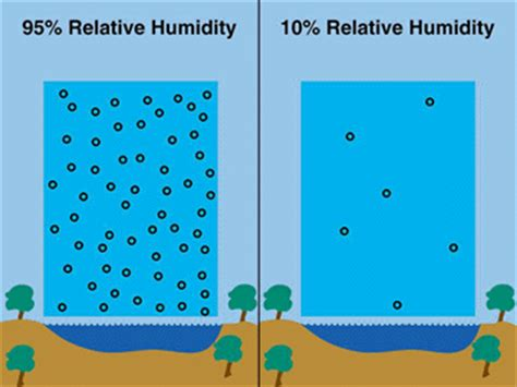 industrial hygiene what is relative humidity and why is