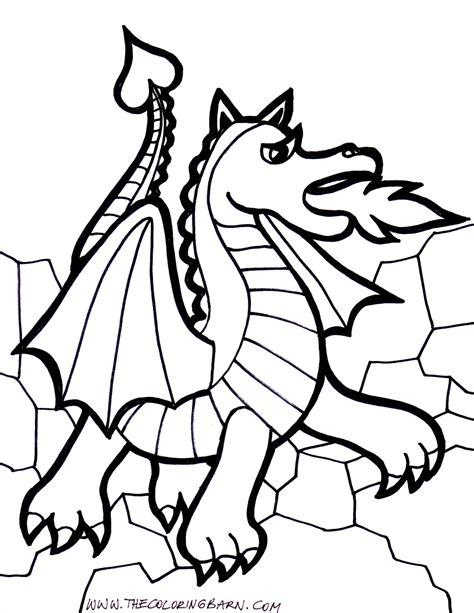 imagenes de leones y dragones 157 dibujos de dragones para colorear oh kids page 8