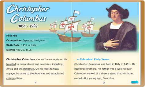 christopher columbus biography early years biographies learning 21stcentury snapshot