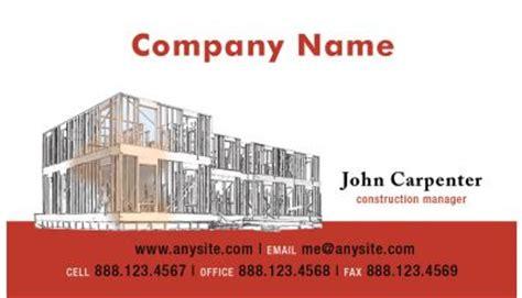 building construction business card templates building and construction business card 003 custom