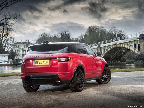 2016 range rover evoque caricoscom 2016 range rover evoque hse luxury dynamic red rear hd