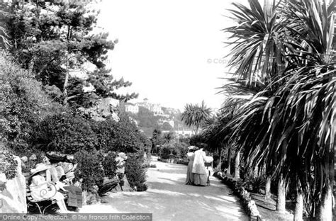 the rock garden torquay torquay rock gardens 1906 francis frith