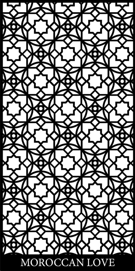design pattern finder beautiful moroccan screen design google search