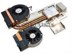 Hp Asus C007 cf0550 b10m c007 hp pavilion 319492 001 dual fan heatsink