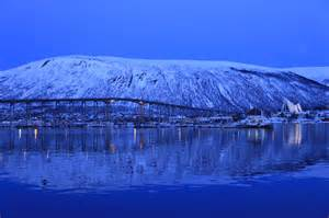 light for winter blues pictures from tromso norway fjord travel norway