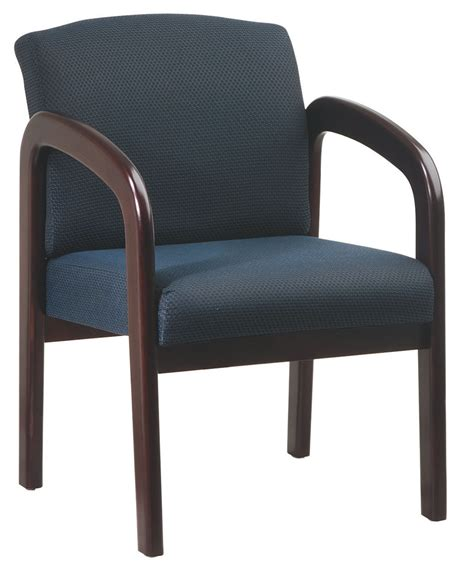 wood waiting room chairs mahogany finish wood fabric visitor conference waiting room guest chair wd383 chairs