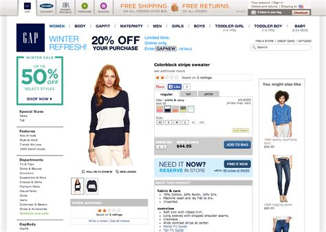 product layout pages 9 ways a b testing can make gap inc millions optimizely