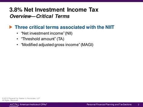 irc section 1411 understanding the net investment income tax