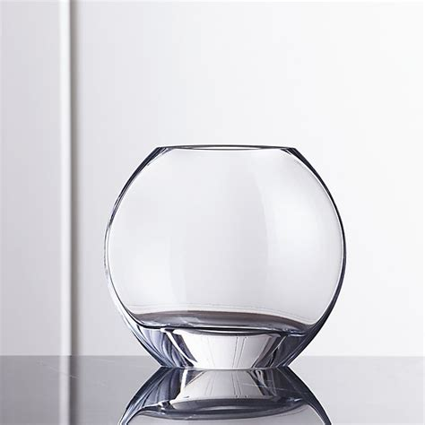 samara small glass vase crate and barrel