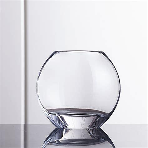 samara small glass vase crate and barrel