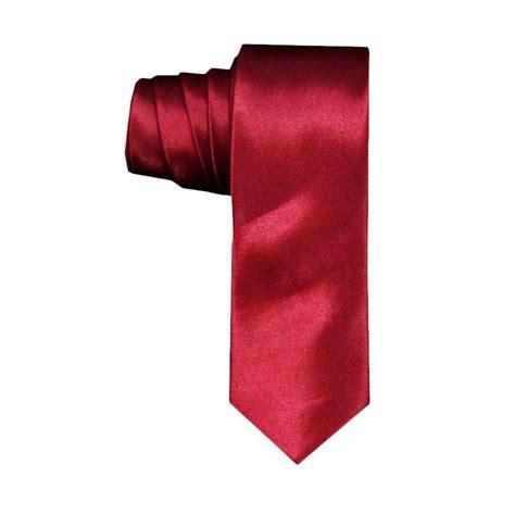 Jual Vm Dasi Fashion Slim Dasi Kerja Dasi Pesta Slim Tie Navy jual vm slim merah marun dasi harga kualitas terjamin blibli