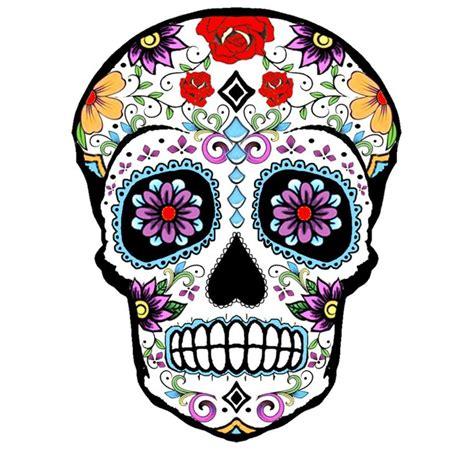 teschio messicano fiori tatuaggi teschi messicani una proposta da copiare con dei