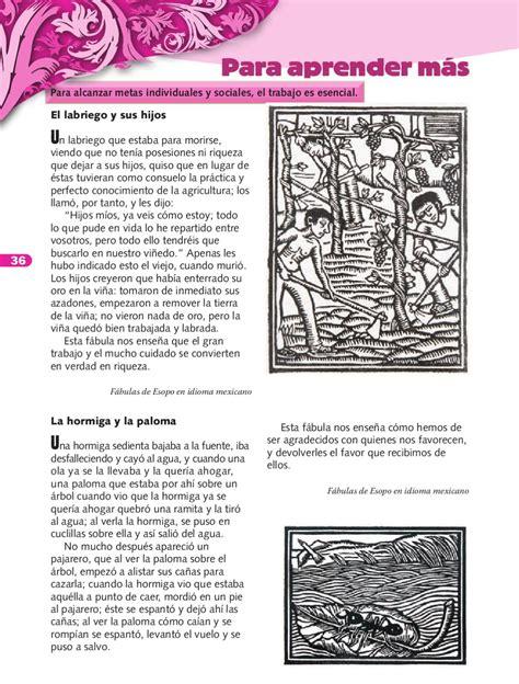 libro de formacion issuu formaci 243 n c 237 vica y 201 tica 3er grado by rar 225 muri page 38