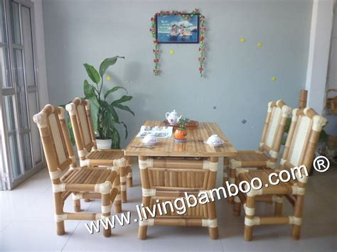 bamboo dining room set bamboo dining room spring dining table set family