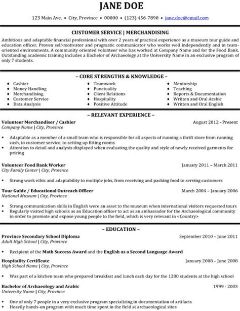 resume format for for freshers cus click here to this customer service merchandising resume template http www