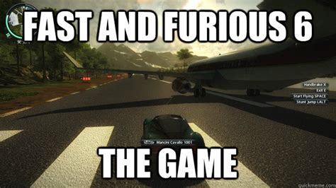 Fast And Furious 6 Meme - fast and furious 6 runway memes
