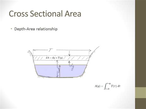 what is cross sectional area of a river what is the cross sectional area 28 images what will