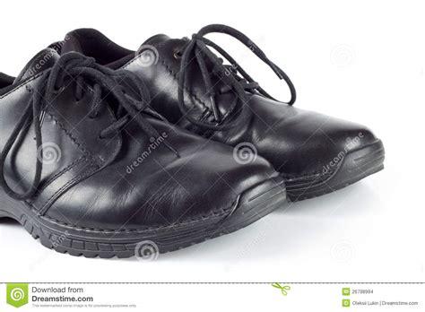 Shoe Unlimited Sr 5003 Black s black leather shoes stock photo image of elegance 26798994