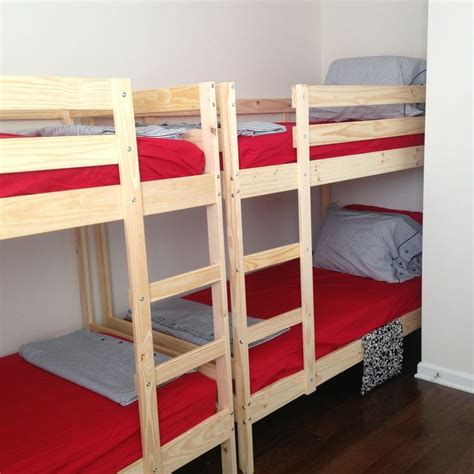 Bunk Bed With Guest Bed Ikea S Bunk Beds For S Ninjas Charleston Guest Bedroom Pinterest Ninjas Bunk Bed