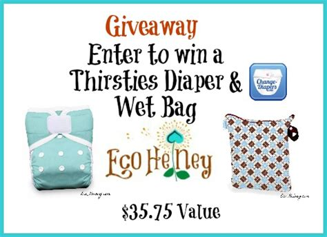Free Cloth Diaper Giveaway - thirsties one size pocket cloth diaper wet bag giveaway 2 25