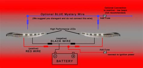 wiring diagram for led daytime running lights the wiring