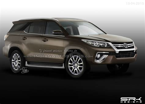 New Toyota Models In India New Toyota Fortuner 2016 Launch Pics Price In India