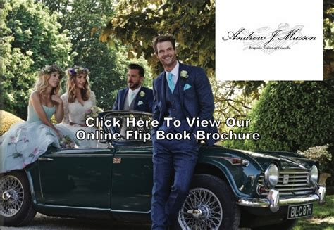 Wedding Suit Hire Brochure by Hire Wear Andrew J Mussonandrew J Musson