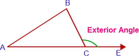 Exterior And Remote Interior Angles by Exterior Angles Exterior Angle Of A Polygon