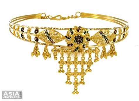 bajuband pattern indian gold armlet bajuband ajbb53659 indian gold