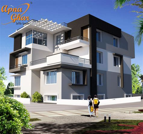 triplex house design in 368m2 5 bedrooms triplex house