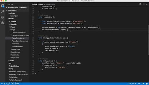 format html vscode visual studio code and unity