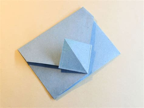 How To Fold An Origami Envelope - 2 easy ways to fold an origami envelope wikihow