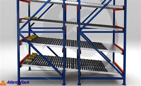 carton flow picking system atlantic rack