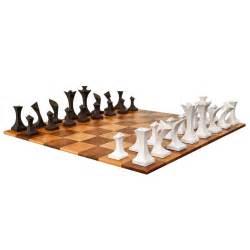 Contemporary Chess Set Modern Chess Set By Robert Lander At 1stdibs