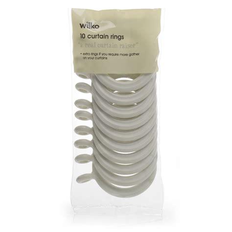 cream curtain rings wilko firenze curtain rings cream 19mm 10pk at wilko com