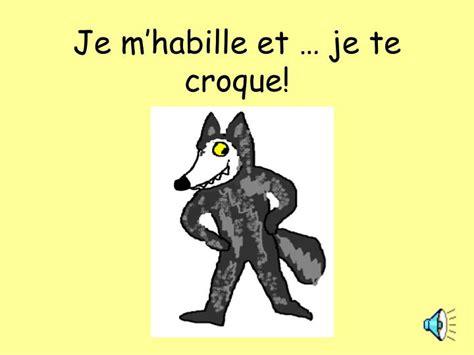 libro je mhabille et je ppt je m habille et je te croque powerpoint presentation id 4275181