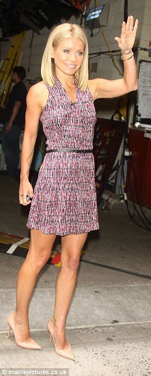 kelly ripa wrist tattoo ripa looks to be removing ankle from all