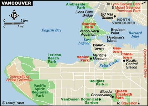 america map vancouver vancouver