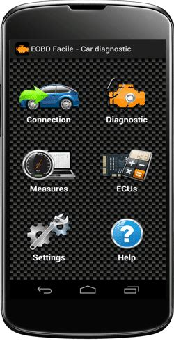 android auto diagnostic app eobd facile outils obd facile
