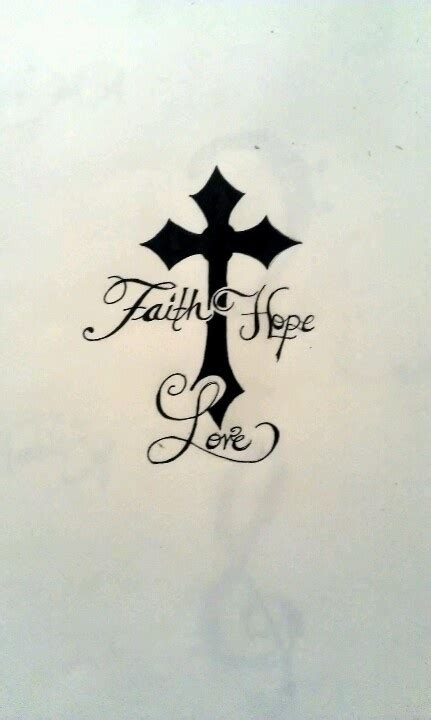 love cross tattoo the i want
