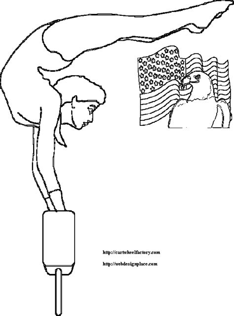 coloring pages of a girl doing gymnastics cwf rubber flooring inc coloring book pages of gymnastic