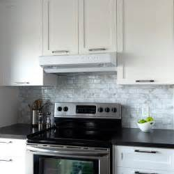 Peel And Stick Kitchen Backsplash Backsplashes Countertops Amp Backsplashes Kitchen The Home