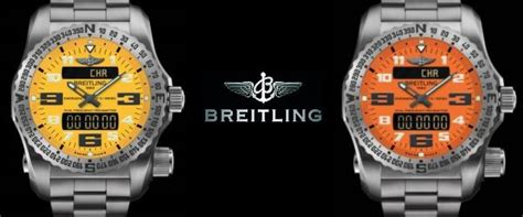 Www Lu Emergency nouvelle breitling emergency 2 une montre balise de