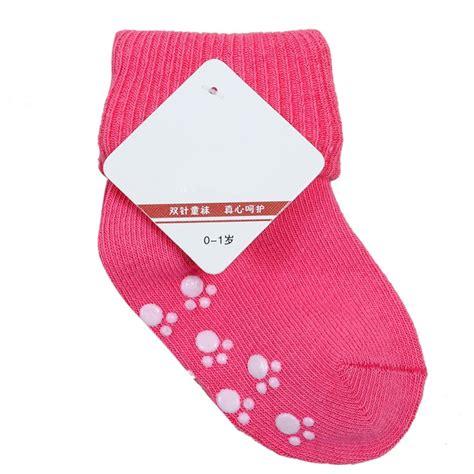 infant baby socks baby cotton socks newborn infant floor sock boys