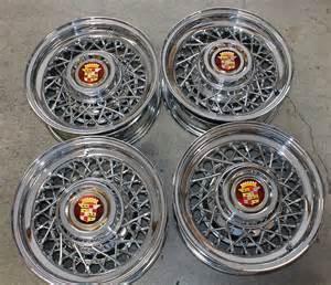 Cadillac Wire Wheels Cadillac Wire Wheels 1947 1956 15 X 6 Quot 48 Spokes Used